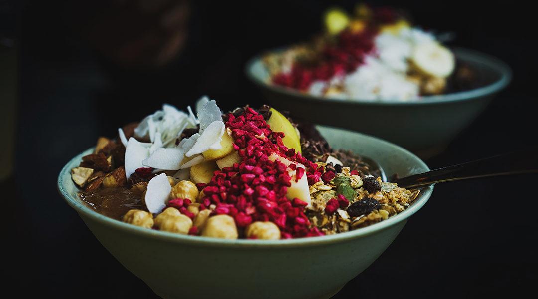 Recette : Porridge aux fruits rouges